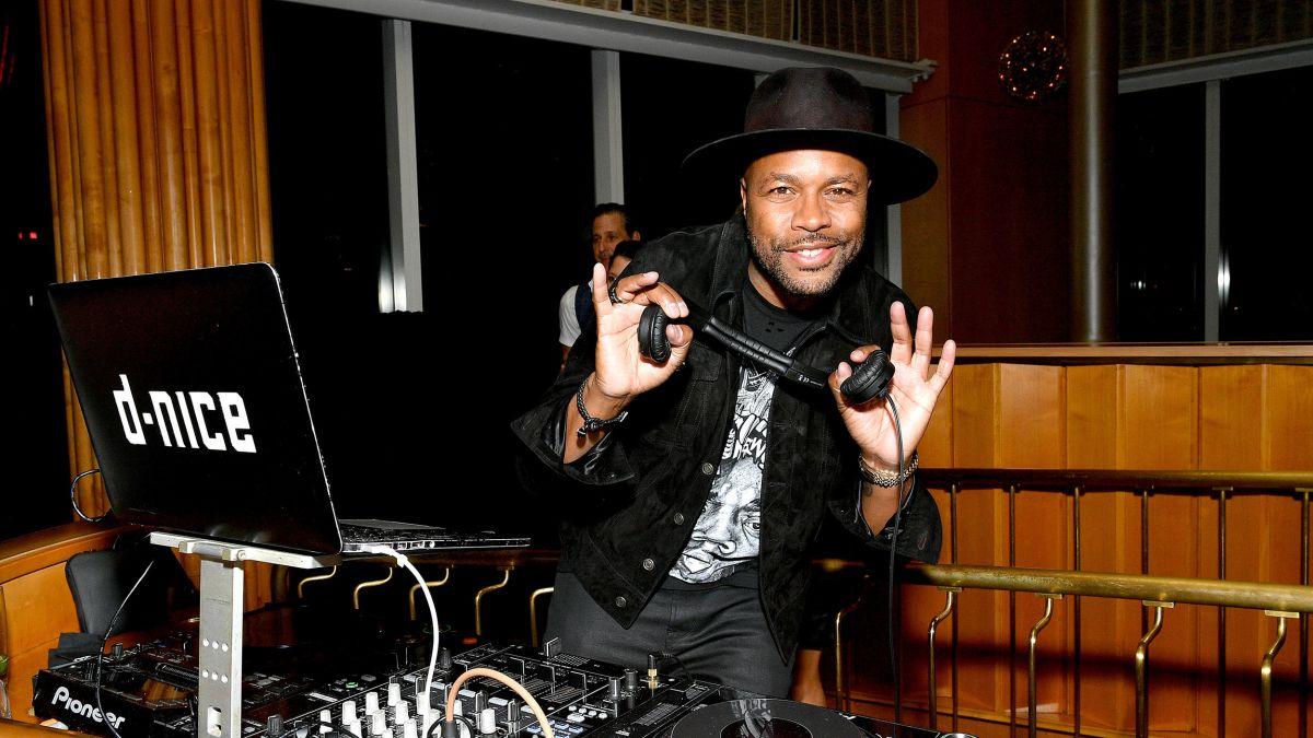 DJ D-NICE HOSTS VIRTUAL PROM