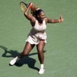 Serena Williams Celebrates US Open Quarterfinals