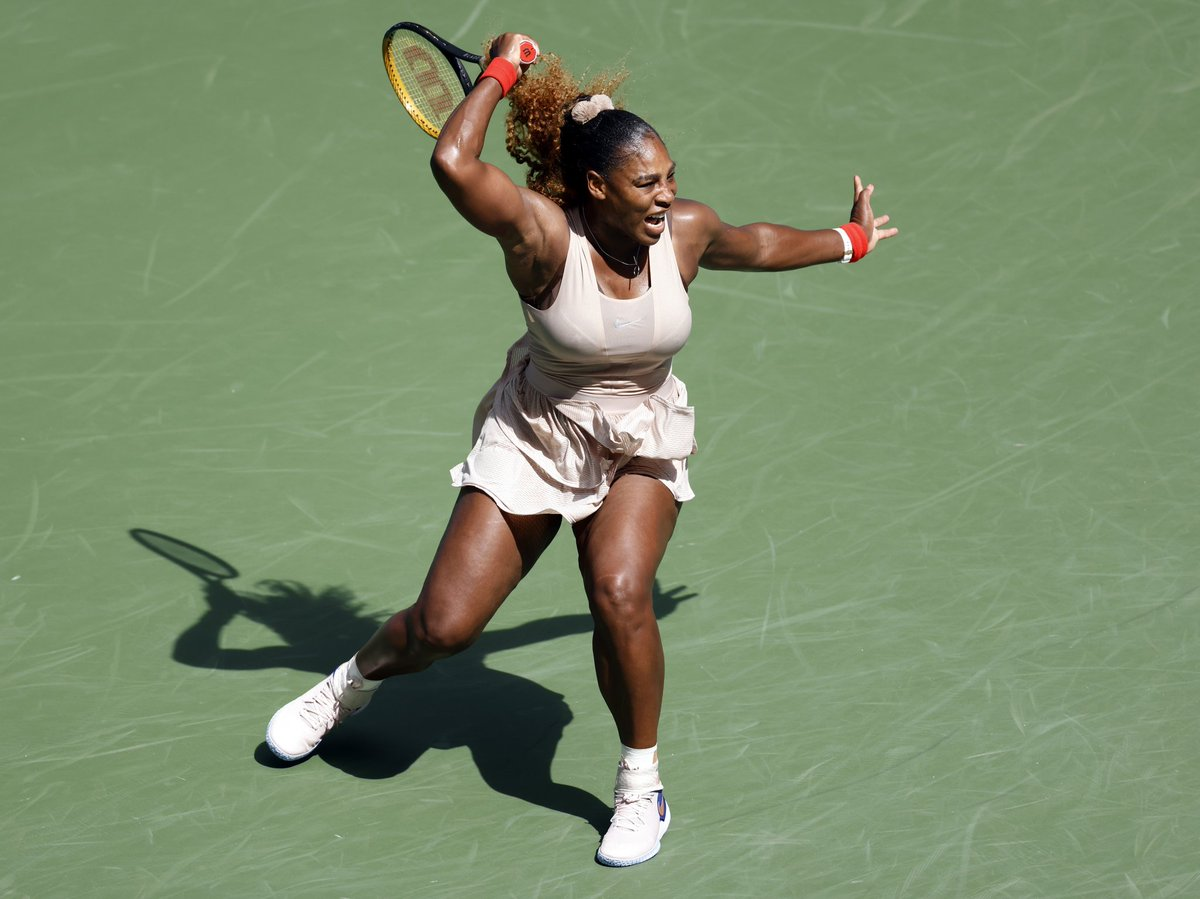 Serena Williams Celebrates US Open Quarterfinals
