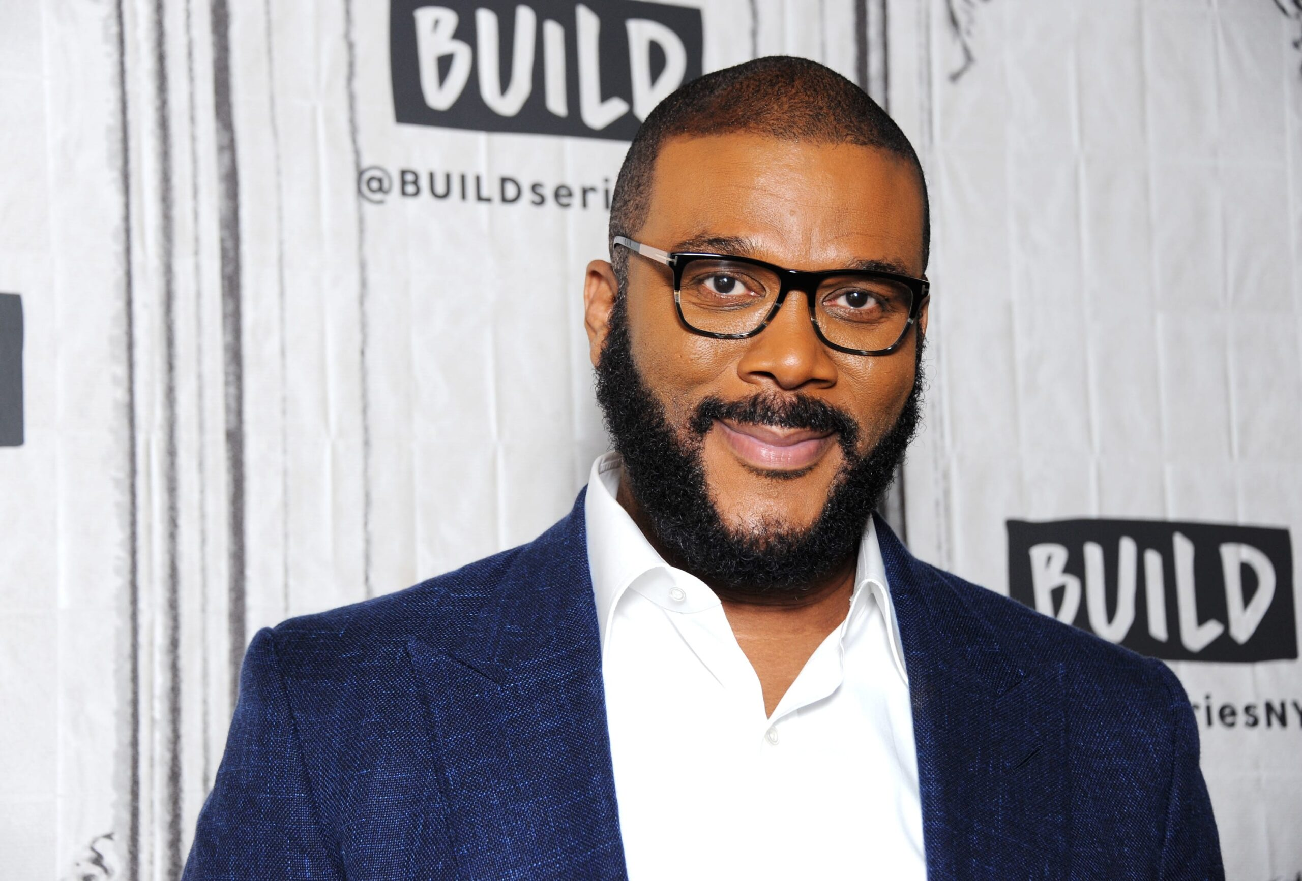 Tyler Perry's Food Giveaway at the Tyler Perry Studios