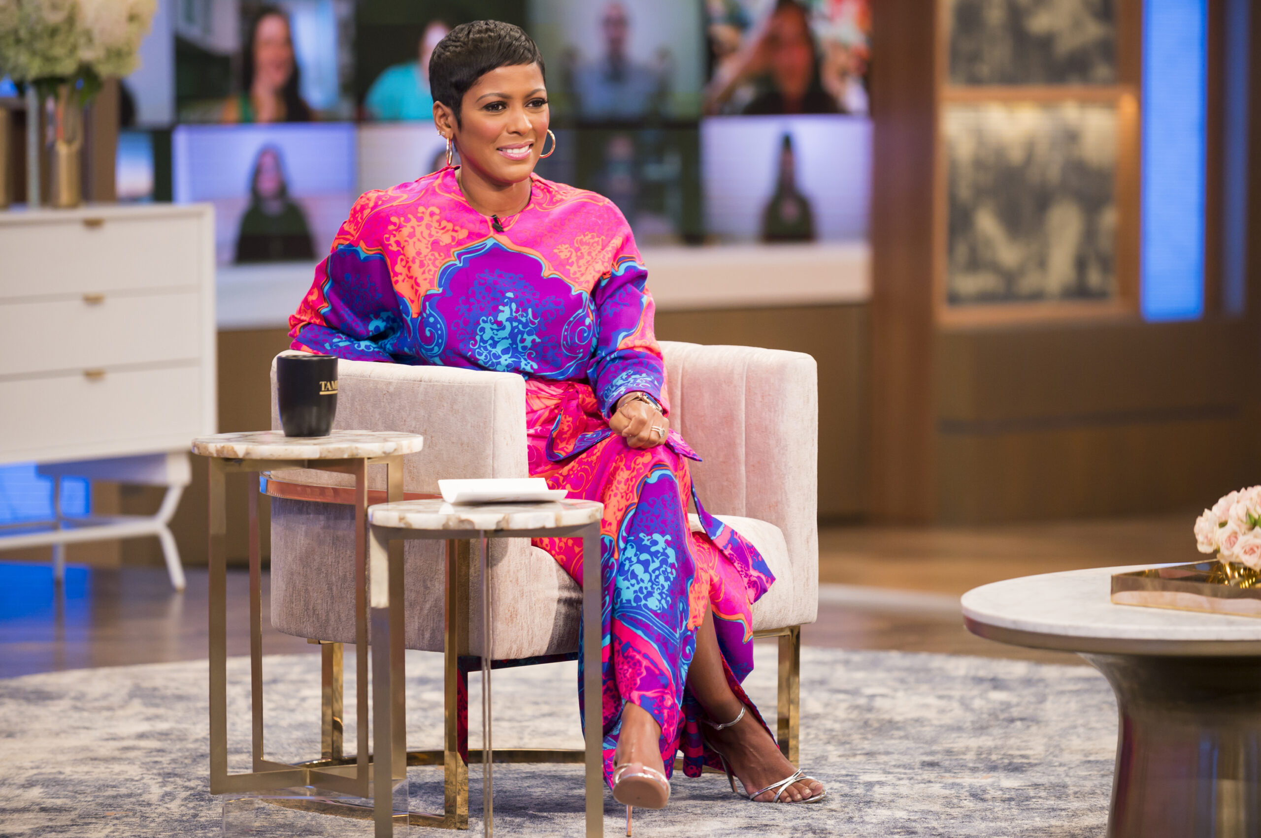 "Tamron Hall ""The Most Fashionable Woman on Daytime Television"""