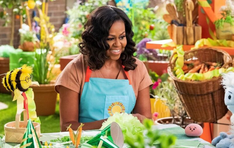 Michelle Obama Launches New Kids Show on Netflix