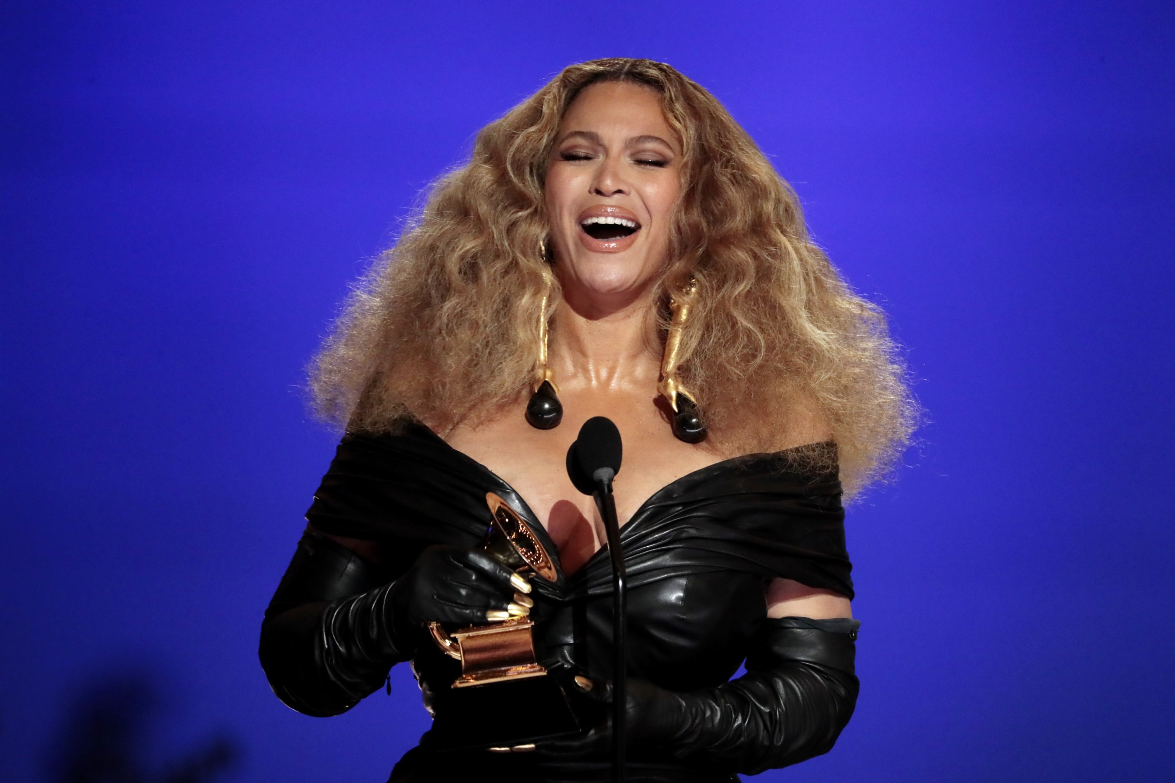 Beyonce Makes History at the 63rd Annual Grammy Awards