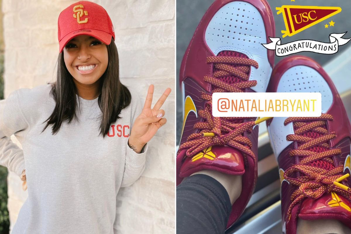 Natalia Bryant is Going to be a Trojan !