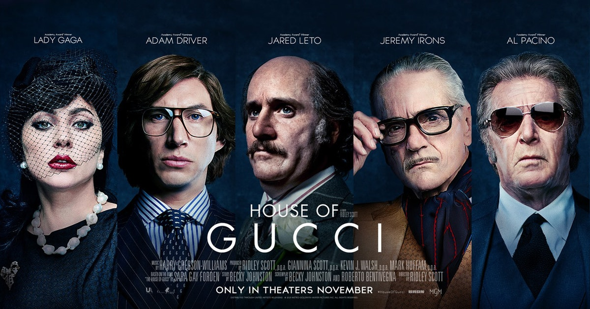 Lady Gaga and Adam Driver Starring in 'House of Gucci'