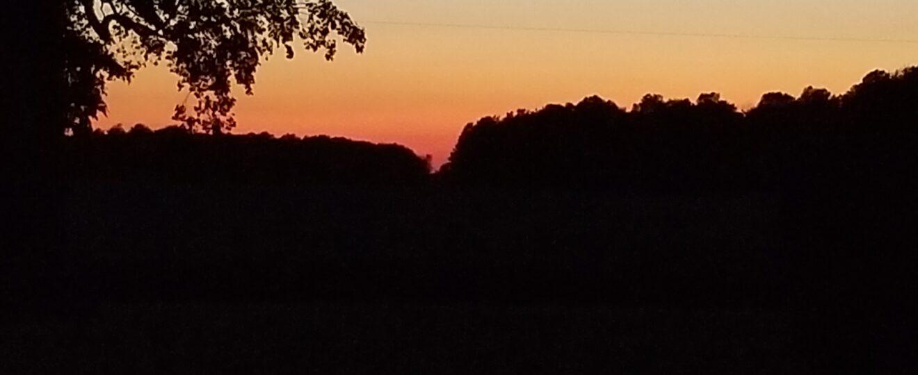 Indiana sunset