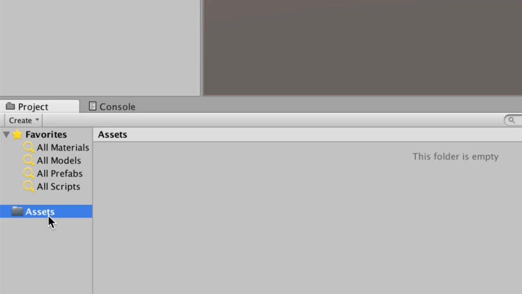 Assets Folder in a Unity Project