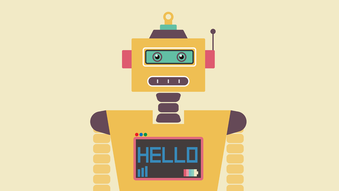 Robot Graphic eBook Cover Image
