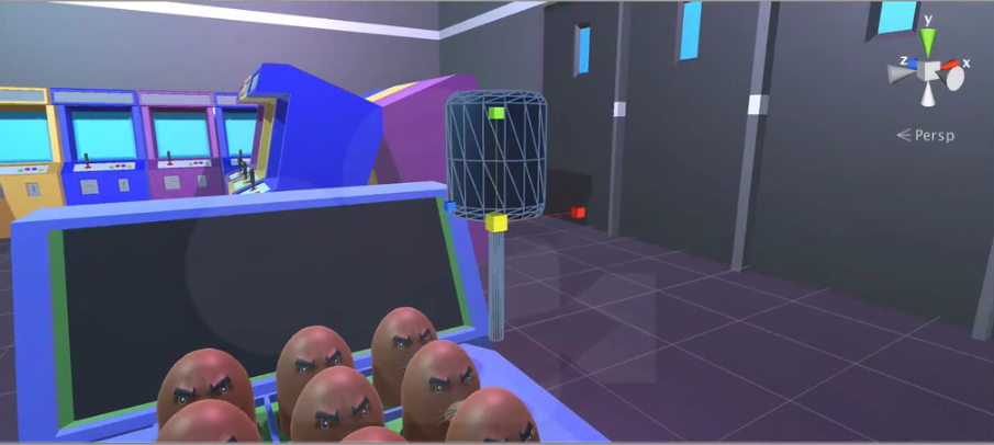 example of a unity game with a hammer
