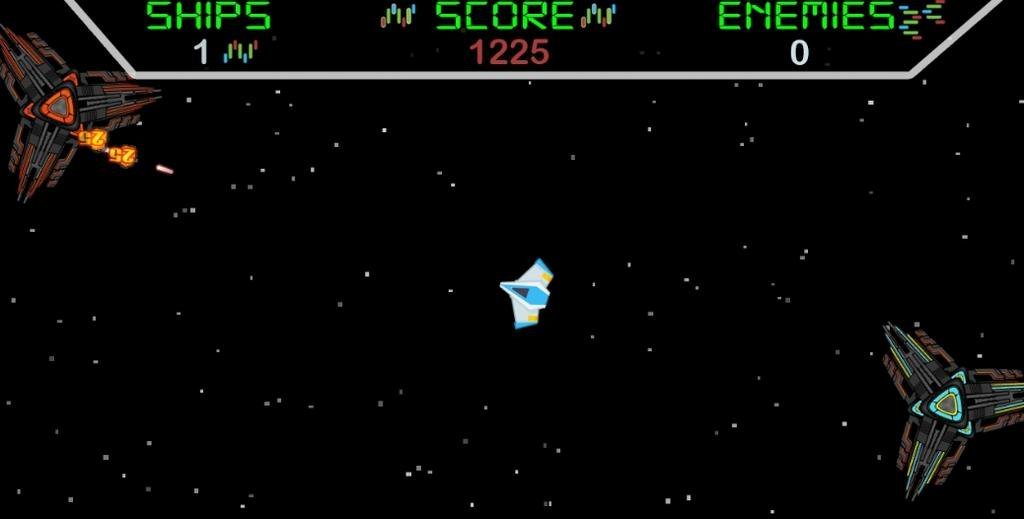 space shooter galactic attack game