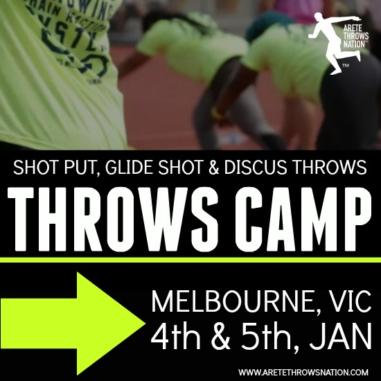HOLIDAY SHOT OUT AND DISCUS THROWS CAMPS MELBOURNE