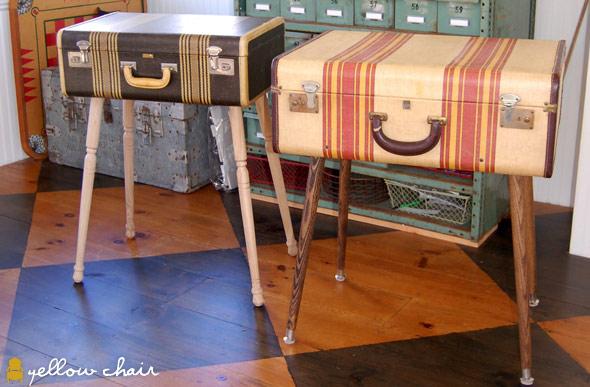 Suitcase Tabels