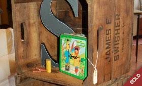 Wood Crate Shelf