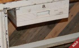 Metal & Wood Workbench Desk