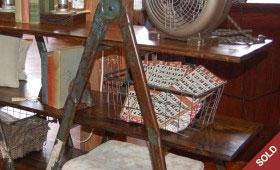 Scaffolding Ladder Shelf