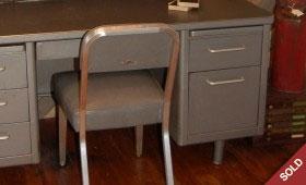 Steelcase Tanker Desk & Chair