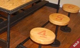 Vintage Cafeteria Table