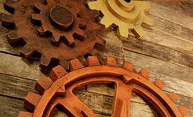 Wooden Foundry Gear Pattern