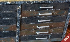 Metal Photo File Cabinet