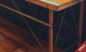 Antique Folding Wallpaper Table