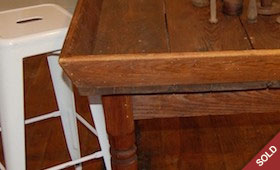 Antique Apple Sorting Table
