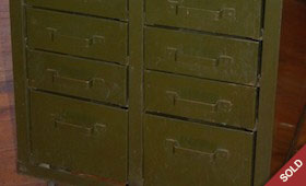Industrial Cabinet Drawers