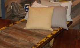 Industrial Cart Daybed/Chaise