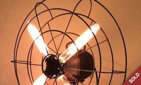 Repurposed Fan Light