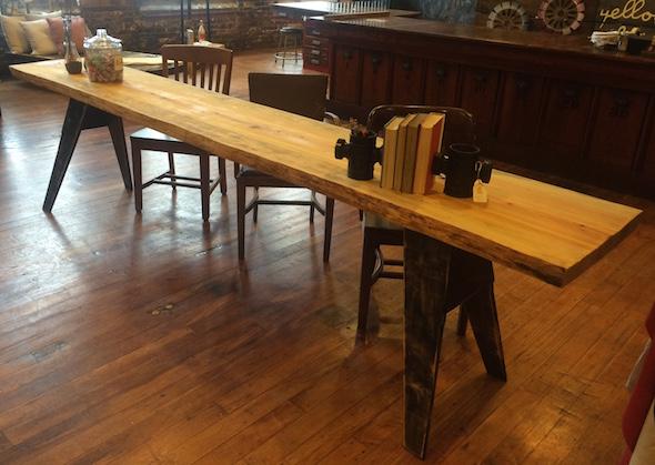 pine slab table1