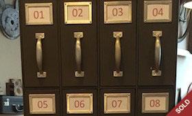 24 Drawer Metal File Cabinet