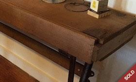Toolbox Hall Table