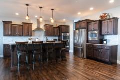 Dark Stained Maple Kitchen