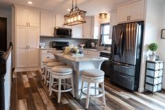 White Farm House Kitchen