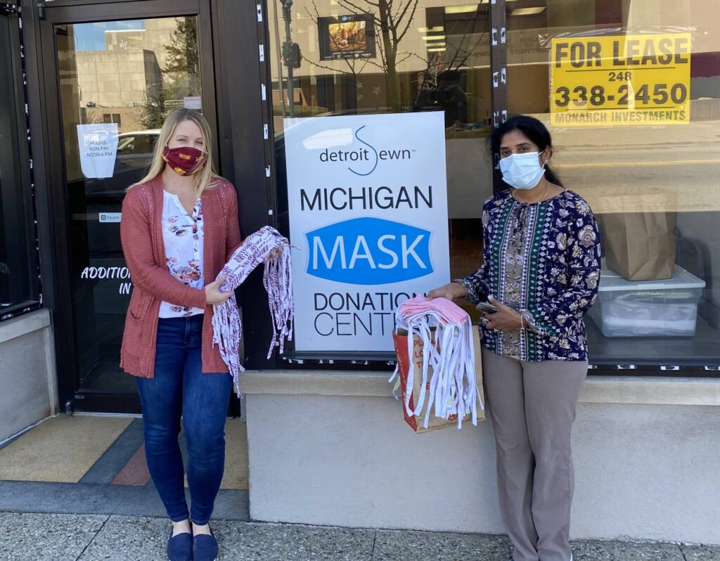 Michigan Mask Donation Center