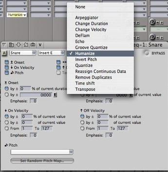 MOTU's Digital Performer is a DAW that includes a range of MIDI effects.
