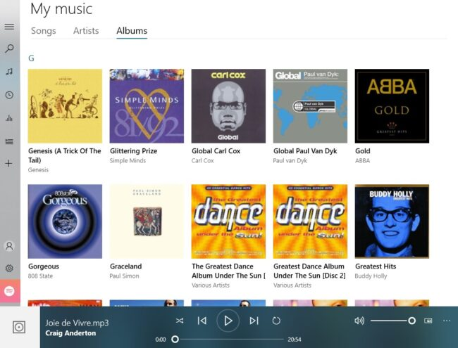 Windows 10's Groove Music app is a good media player, but you need to know how to optimize the interface to make it as friendly as possible.