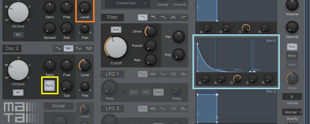 Studio One Mai Tai synthesizer