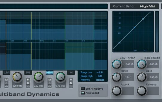 Use a Multiband Compressor as a High-Quality Graphic EQ