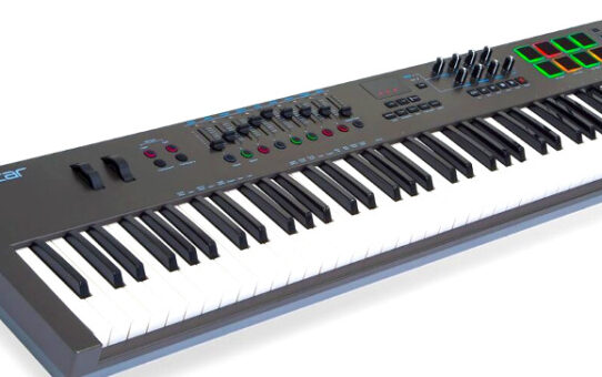 Mix with a Keyboard's MIDI Control Surface