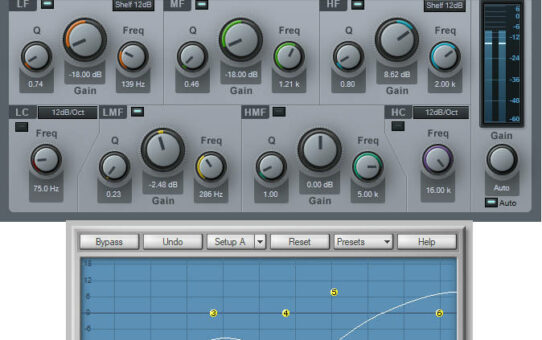 Out-of-Phase Pickup Tone Emulation with EQ