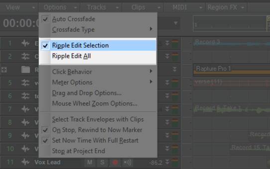 Understanding Ripple Editing