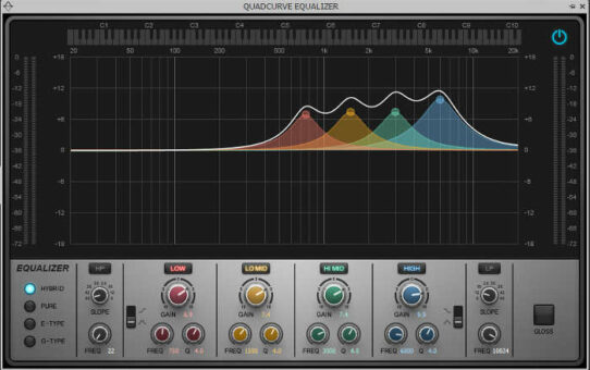 Alternative Clean Guitar Sounds with Novel EQ Curves
