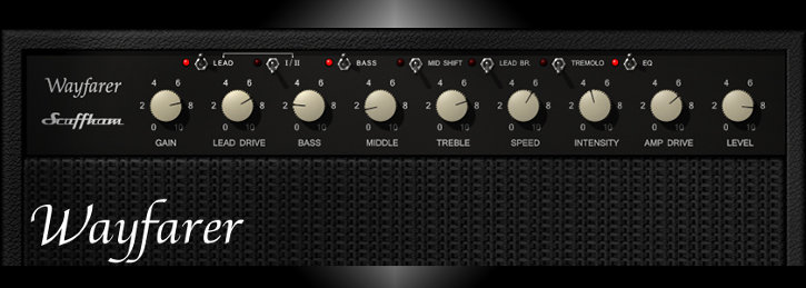 Screen shot of S-Gear 2.7 Wayfarer amp