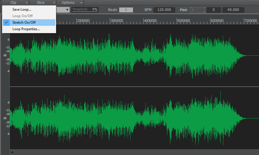 How to set up Cakewalk or Sonar for true, tape-style varispeed