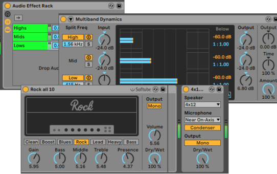 Easy Multiband Processing in Ableton Live