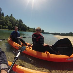 2 Hour Private Salmon River Kayak Tour