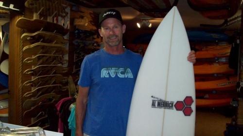 Dayl Wood Safari Town Surf Lesson Instructor
