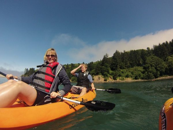 3 Hour Private Salmon River Kayak Tour