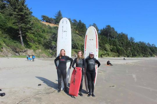 Oregon Coast Surfing Rentals