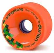 Orangatang Durian Orange Longboard Wheels